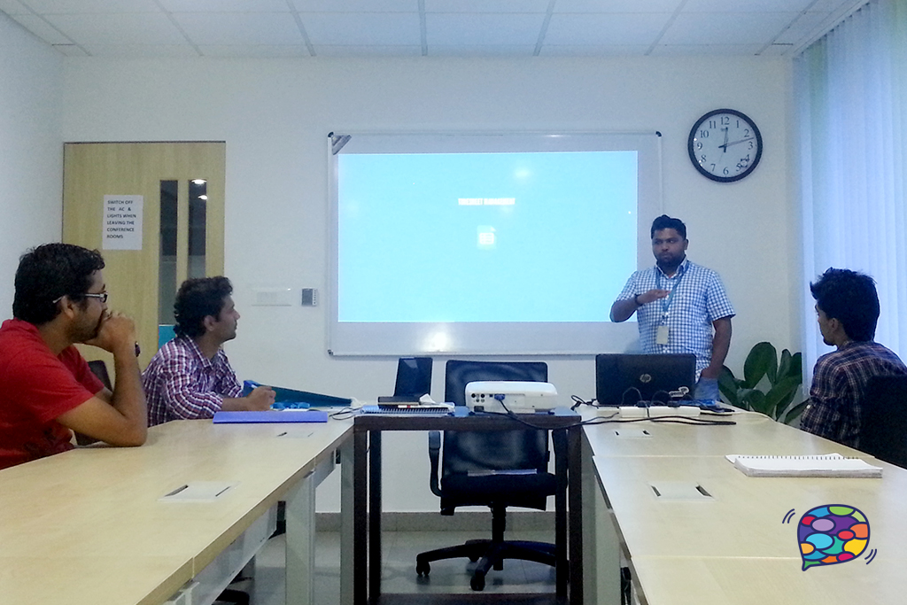 Session by Anugeeth at RapidValue