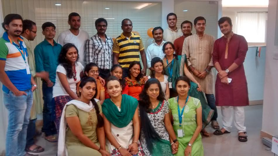 Bangalore RapidValue team