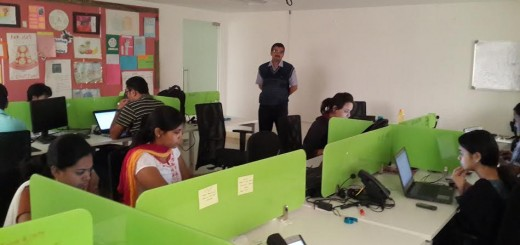 Training in RapidValue Bangalore office