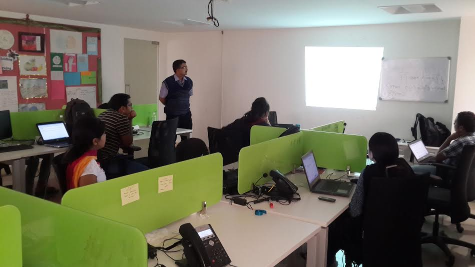 Training on HTML5, CSS3 and AngularJS