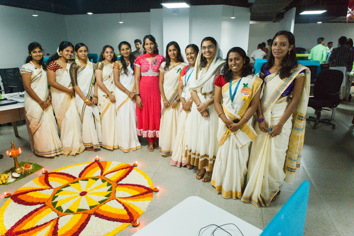 Onam Celebrations in Office