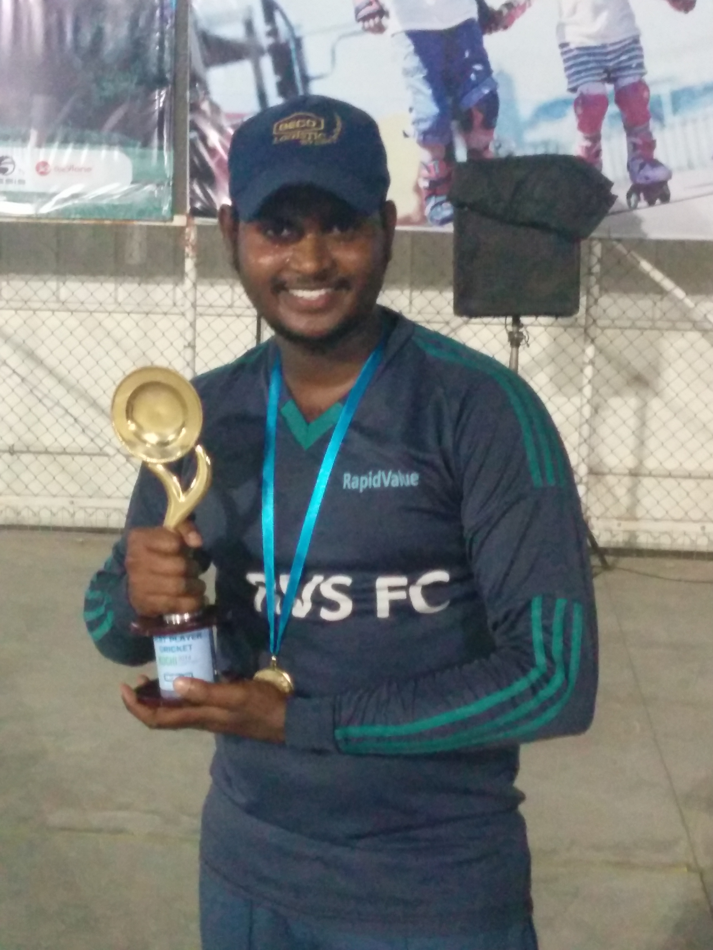 Man of the Match - Arun K A
