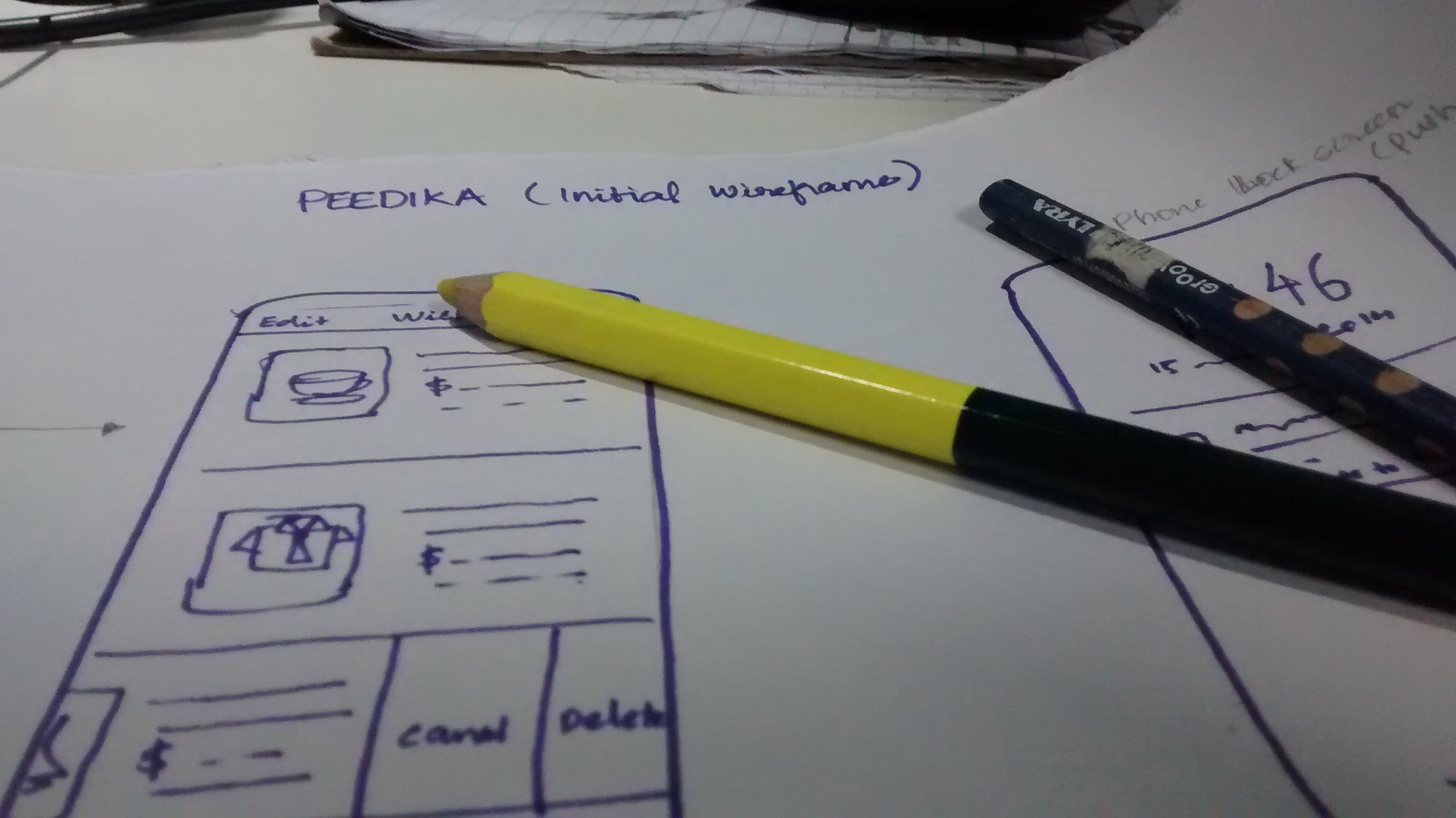 Wireframes by RapidValue