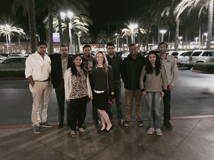 Team dinner - RapidValue Irvine Office