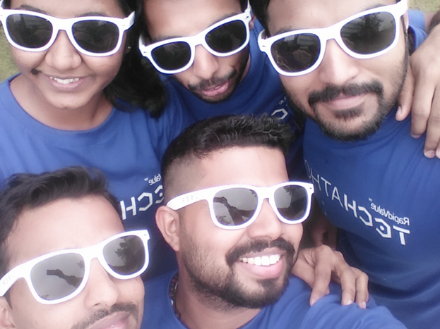 Selfie at Flashmob - RapidValue