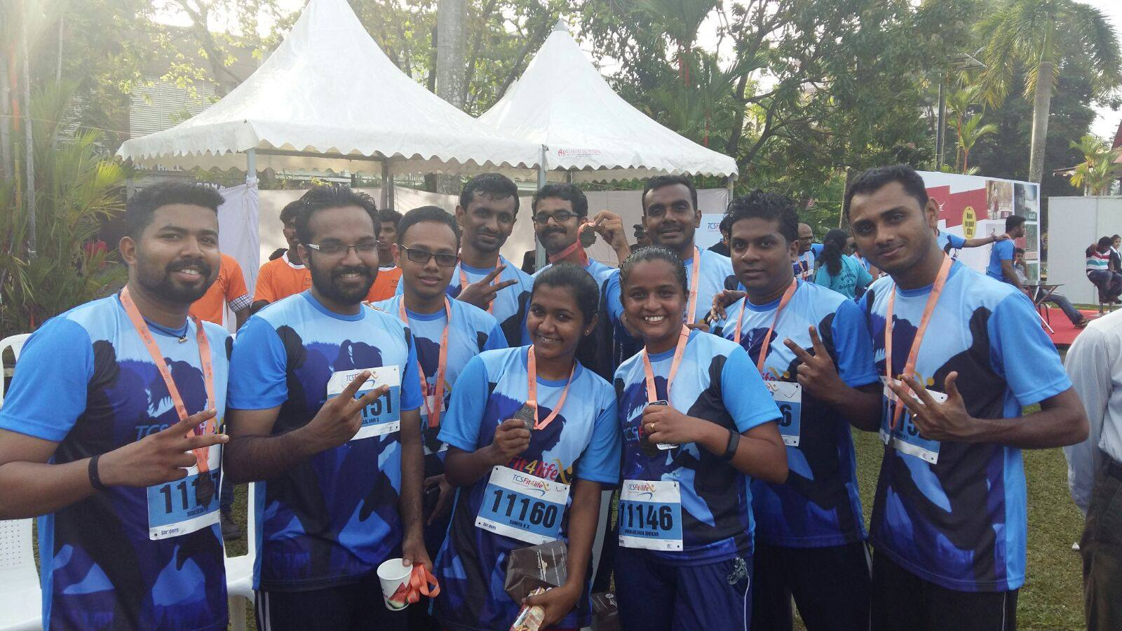 RapidValue at TCS Run