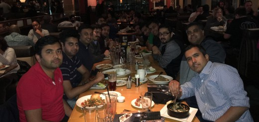 NorCal team dinner