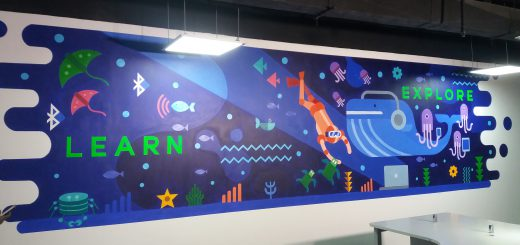 RapidValue Office Wall